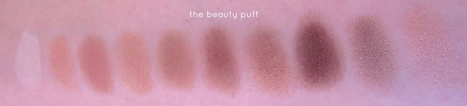 l'oreal la palette nude 1 swatch - the beauty puff