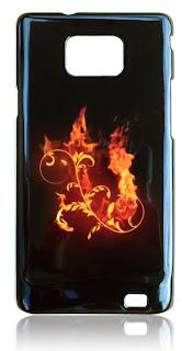 Buntes Handy Hülle Feuer