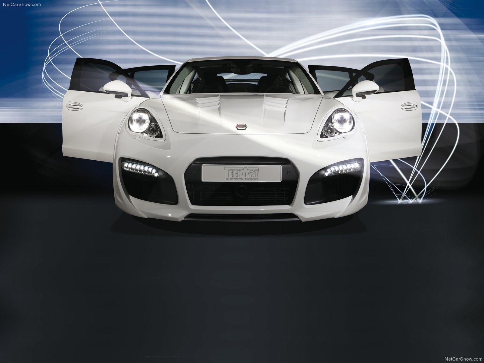 Hình ảnh xe ô tô TechArt Porsche Panamera GrandGT 2011 & nội ngoại thất