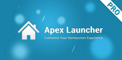 Apex Launcher PRO Apk Terbaru