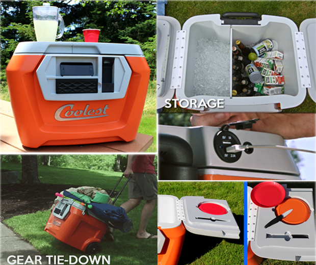 The Coolest – Bluetooth Party Speaker and Cooler