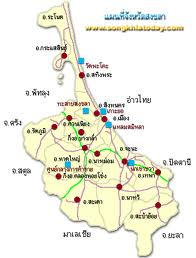 Songkhla Map | Map of Songkhla Province, Thailand