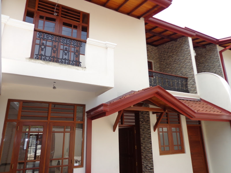 Brand New Architect Design Two Storied House. 3 Bed Rooms, 3 Bathrooms  title=