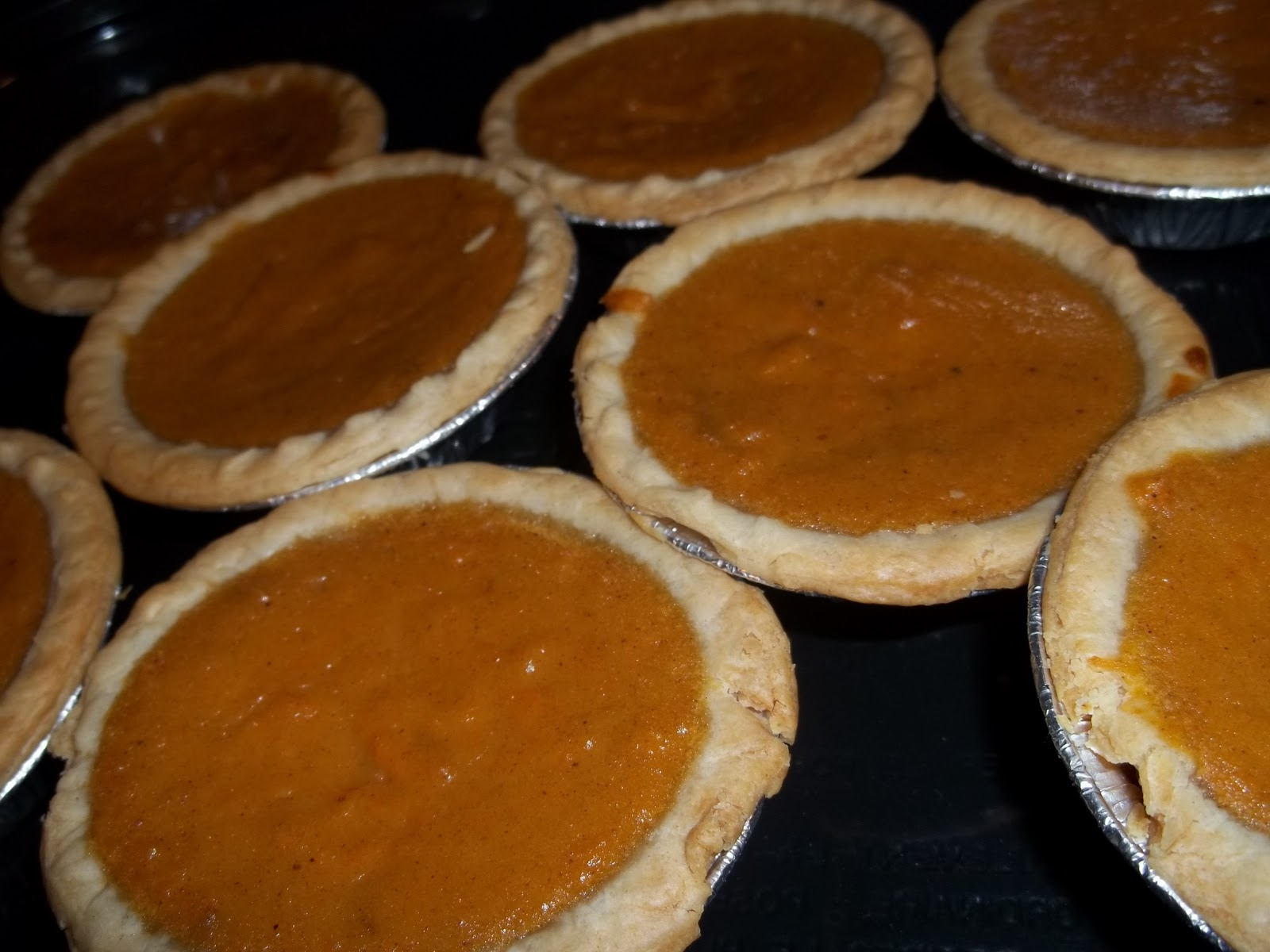 ... Southern: Mini Sweet Potato Pies with Brown Sugar Pecan Topping