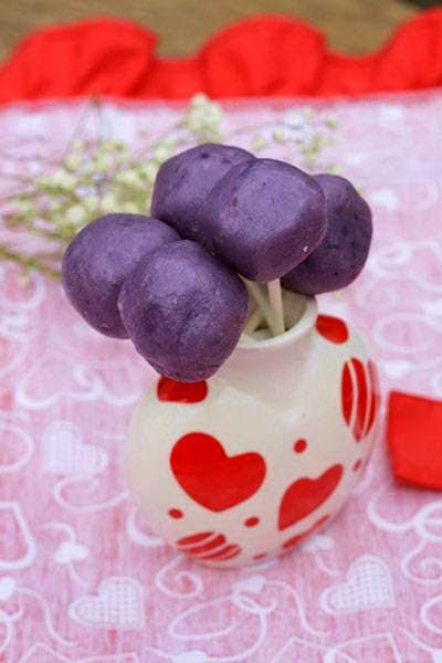 Bánh Dẻo Khoai Lang Tím - Soft Purple Yam Cakes