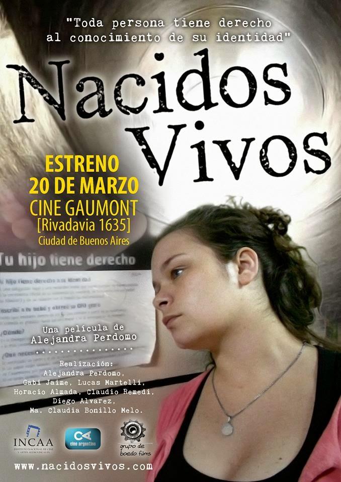 """""""NACIDOS VIVOS"""" Estreno 20 de Marzo"""