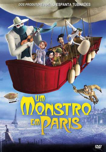 Um Monstro em Paris Torrent - BluRay 720p/1080p Dual Áudio (2011)