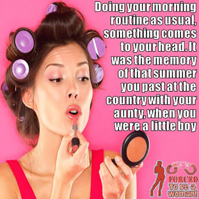 Sissies love makeup and a feminine lifestyle