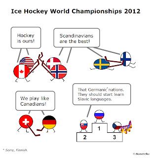 Jak dopadlo MS v hokeji 2012 #hokej