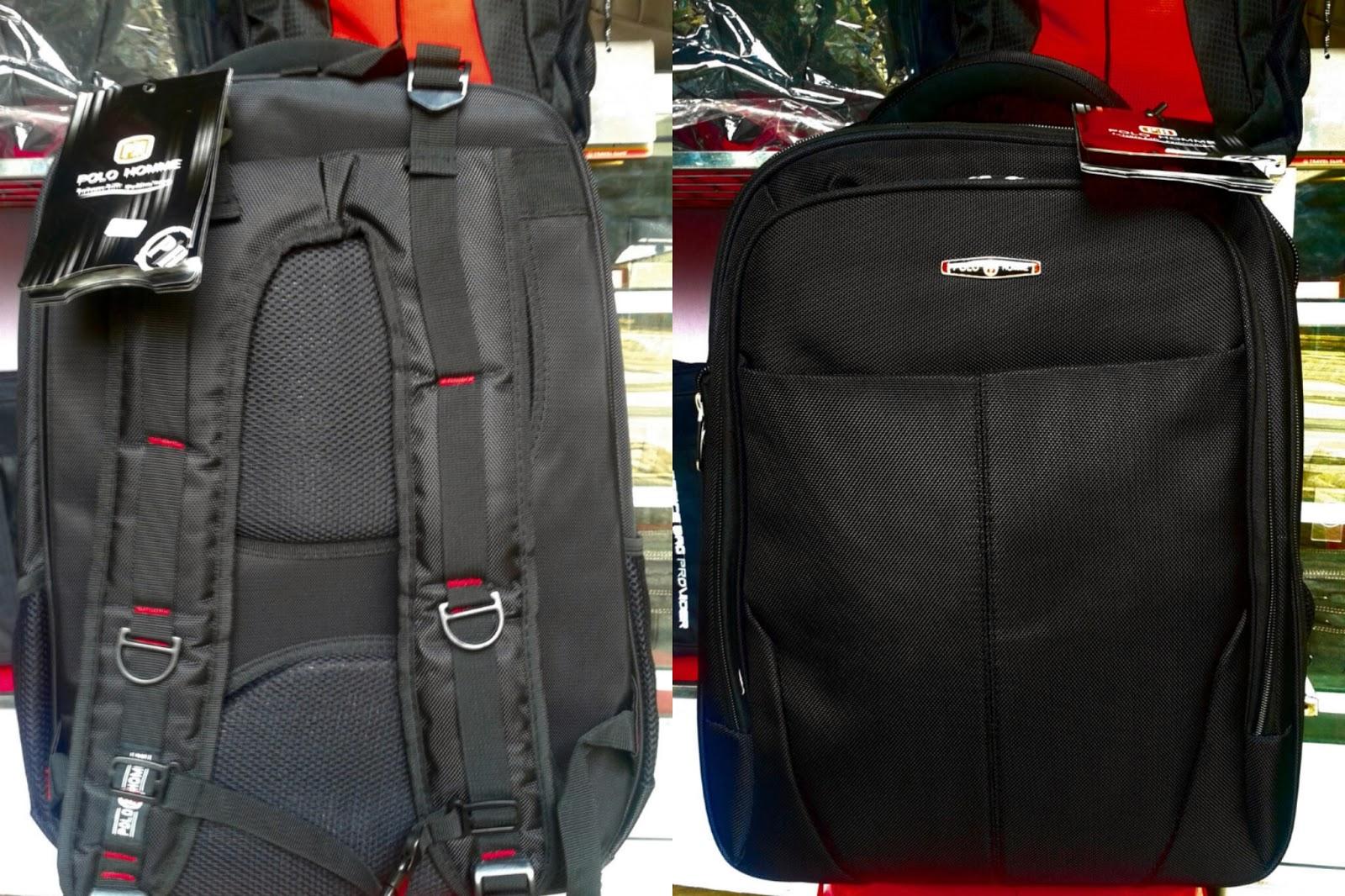 jual tas ransel laptop polo murah grosir tas travel bag anak