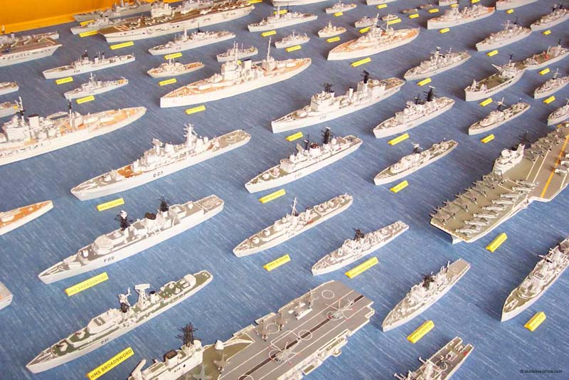 how to make matchstick model ships