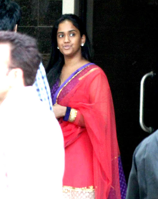 Sister Arpita Khan at Ganpati visarjan stills