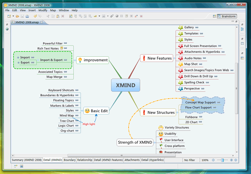 xmind helps you brainstorms ideas creates mind map - Concept Map Software Free