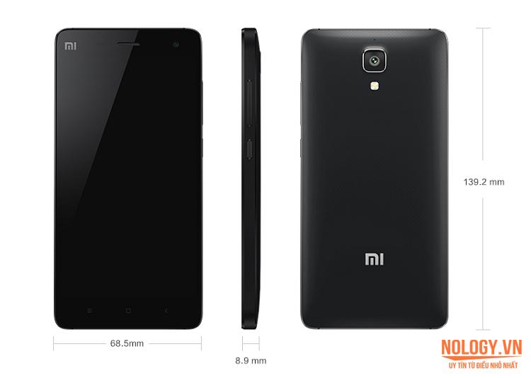 Thiết kế của Xiaomi Mi 4