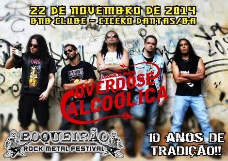 22-11-2014 - OVERDOSE ALCOÓLICA - Cícero Dantas - BA