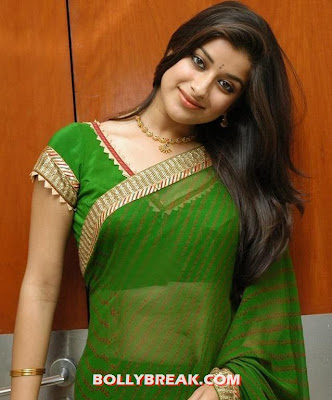 Madhurima in transparent green sari - (4) - Madhurima Unseen Photos
