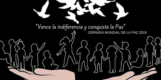 Mensaje Jornada Mundial de la Paz 2016