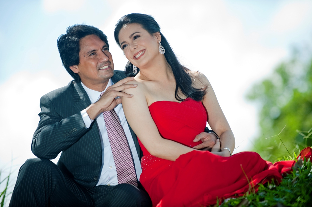 photoshoot of richard gomez with dawn zulueta in walang hangan