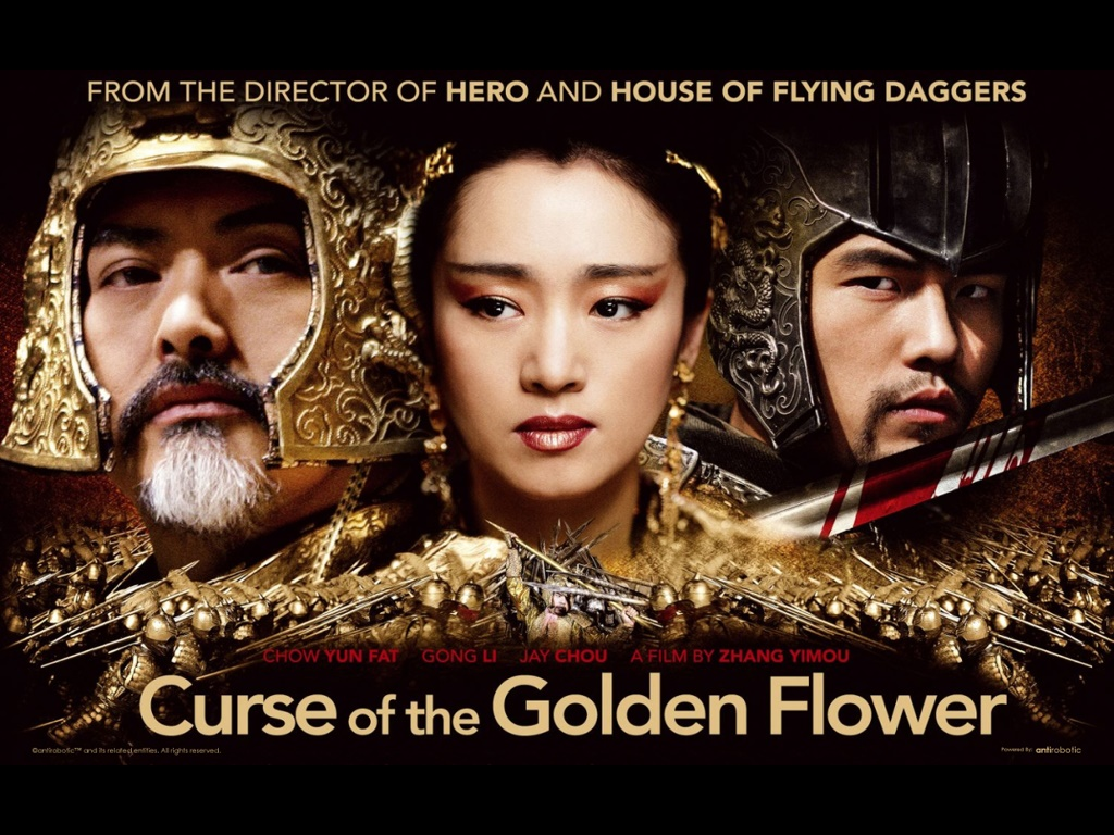 obscurendure Review Curse of the Golden Flower 2006 Dir Yimou Zhang