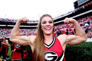 Anna Watson, Cheerleader Paling Kekar di Dunia