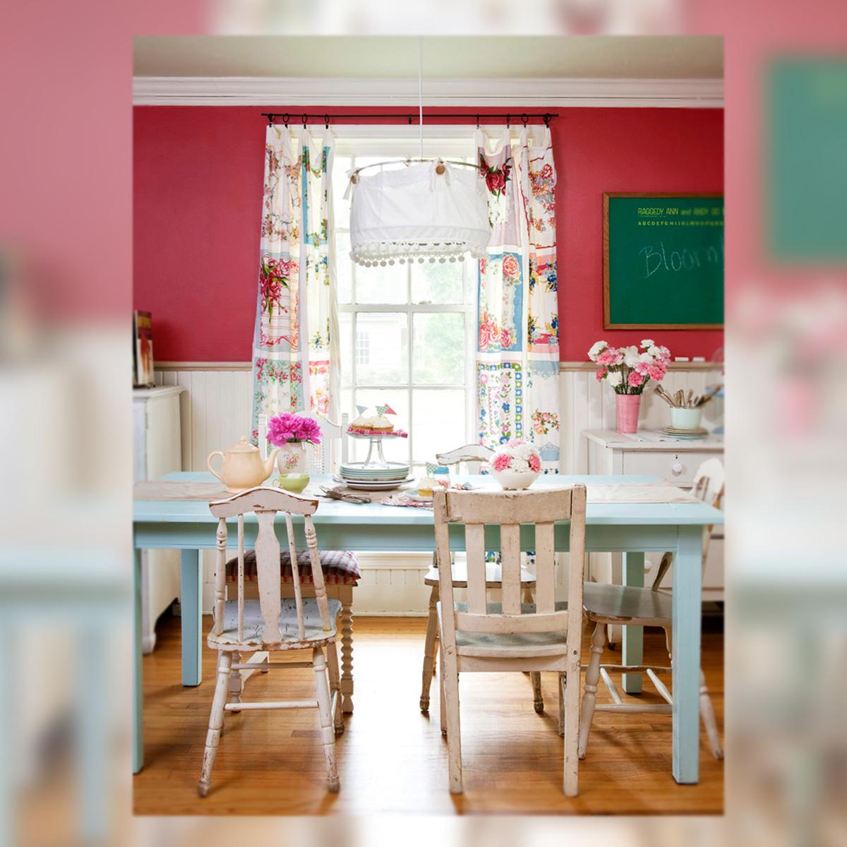 Decoraci n felicidad en el comedor la musa decoraci n for Decoracion muebles vintage