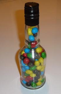 diy ze szklanej butelki