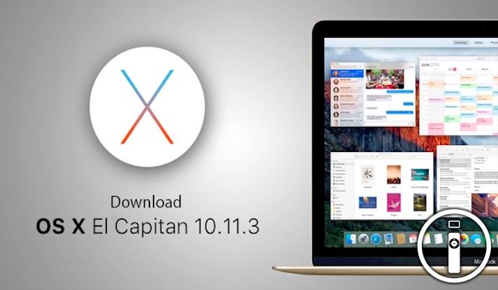 Apple nuovi update iOS e OS X El Capitan