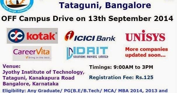 mega fair on 13th september 2014 jyothy institute of