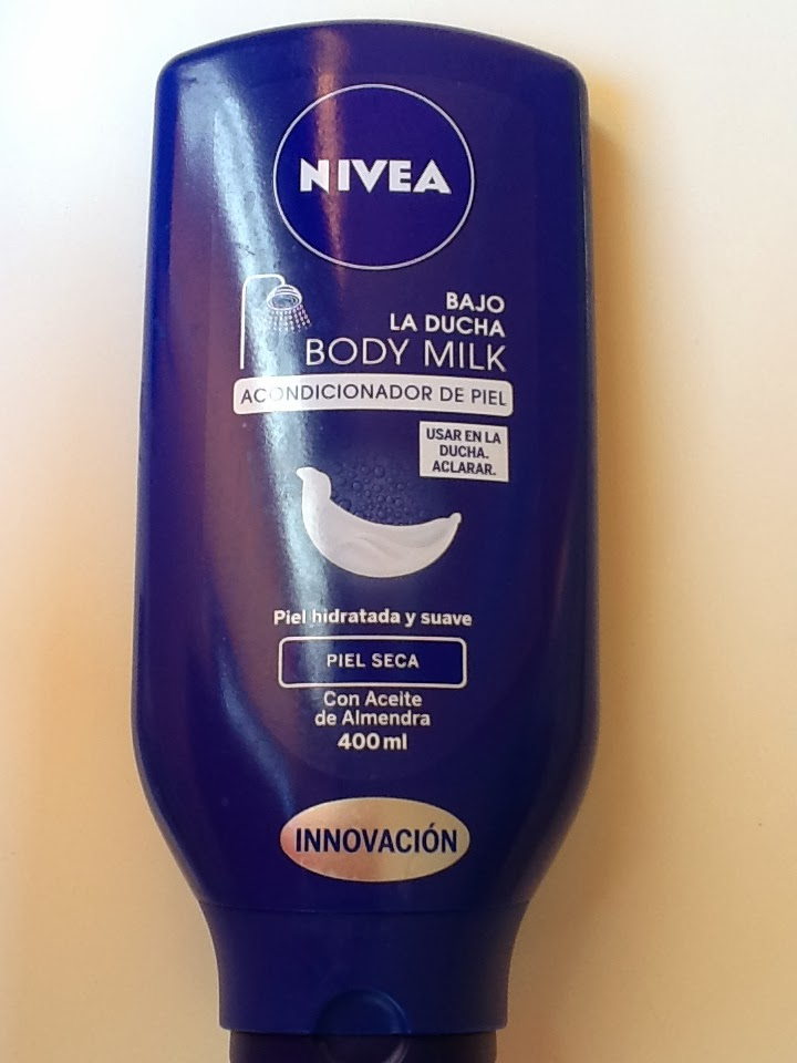 NIVEA in shower body lotion