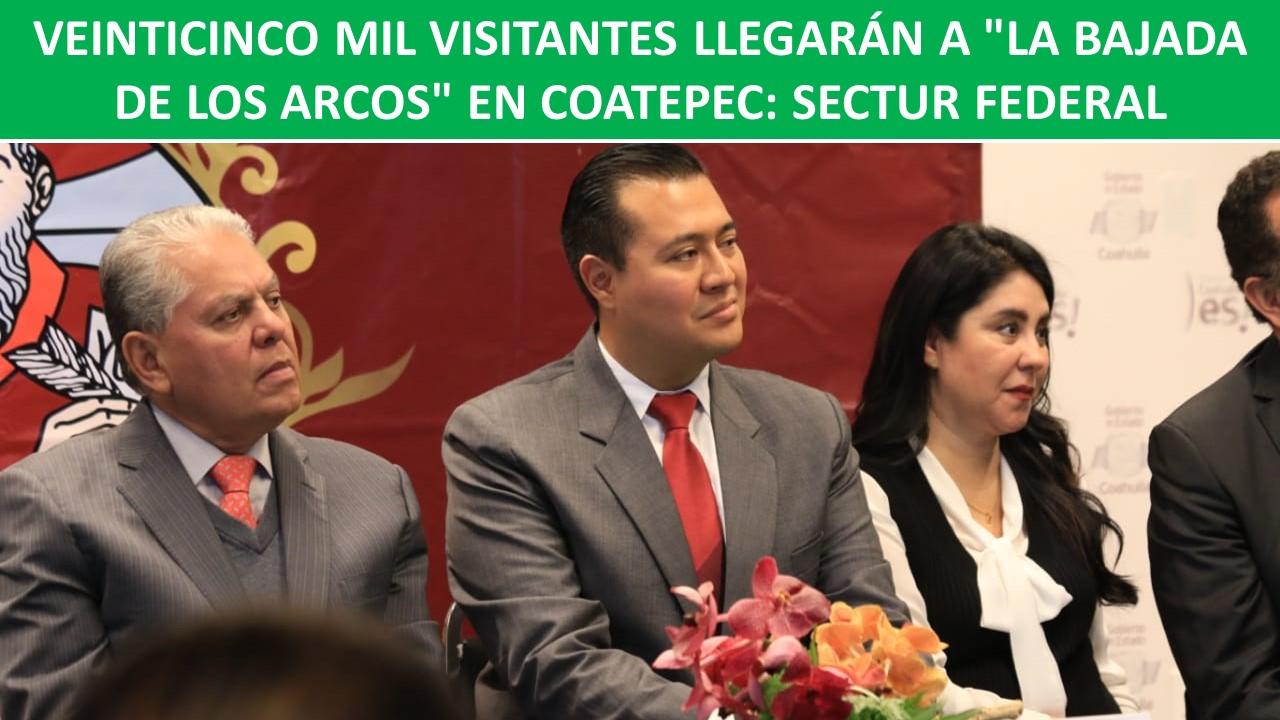 """VEINTICINCO MIL VISITANTES LLEGARÁN A """"LA BAJADA DE LOS ARCOS"""""""