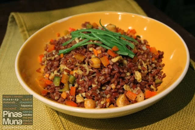 Vegetarian Red Rice by Sentro 1771