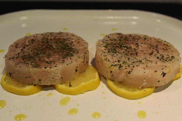 Medallones de merluza al limon