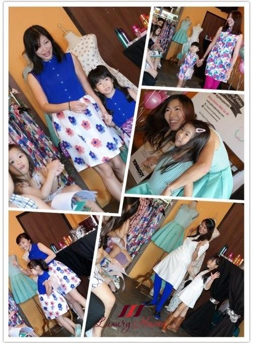 glitter glam mum kids mini me fashion show