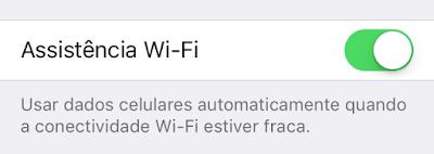Assistência Wi-Fi iOS 9 beta 5