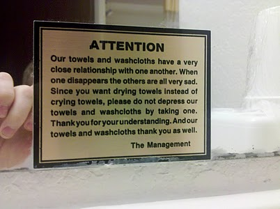 Funny Jokes Blog Funny Notice By Hotel Management