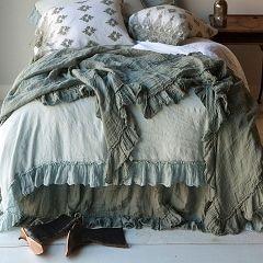 Bella Notte Linens Linen Whisper Bed Scarf
