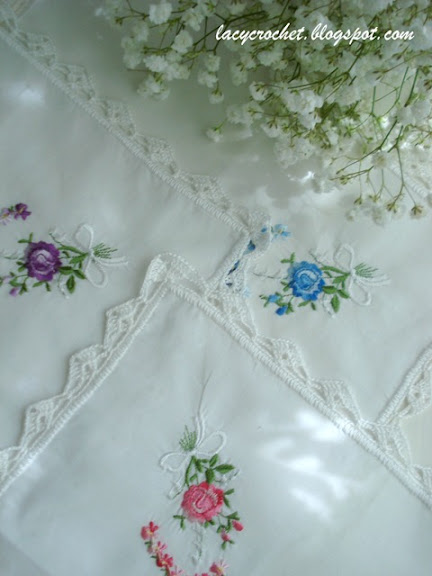 handkerchiefs with lace