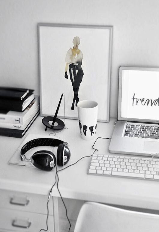The luxury factor: hvorfor ikke indrette dit kontorhjørne?