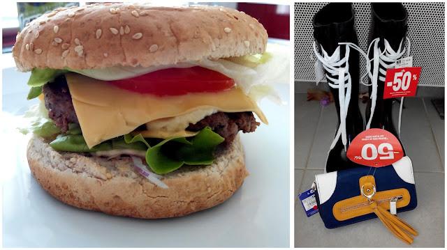 burger, soldes, bottes, portefeuille, bullelodie
