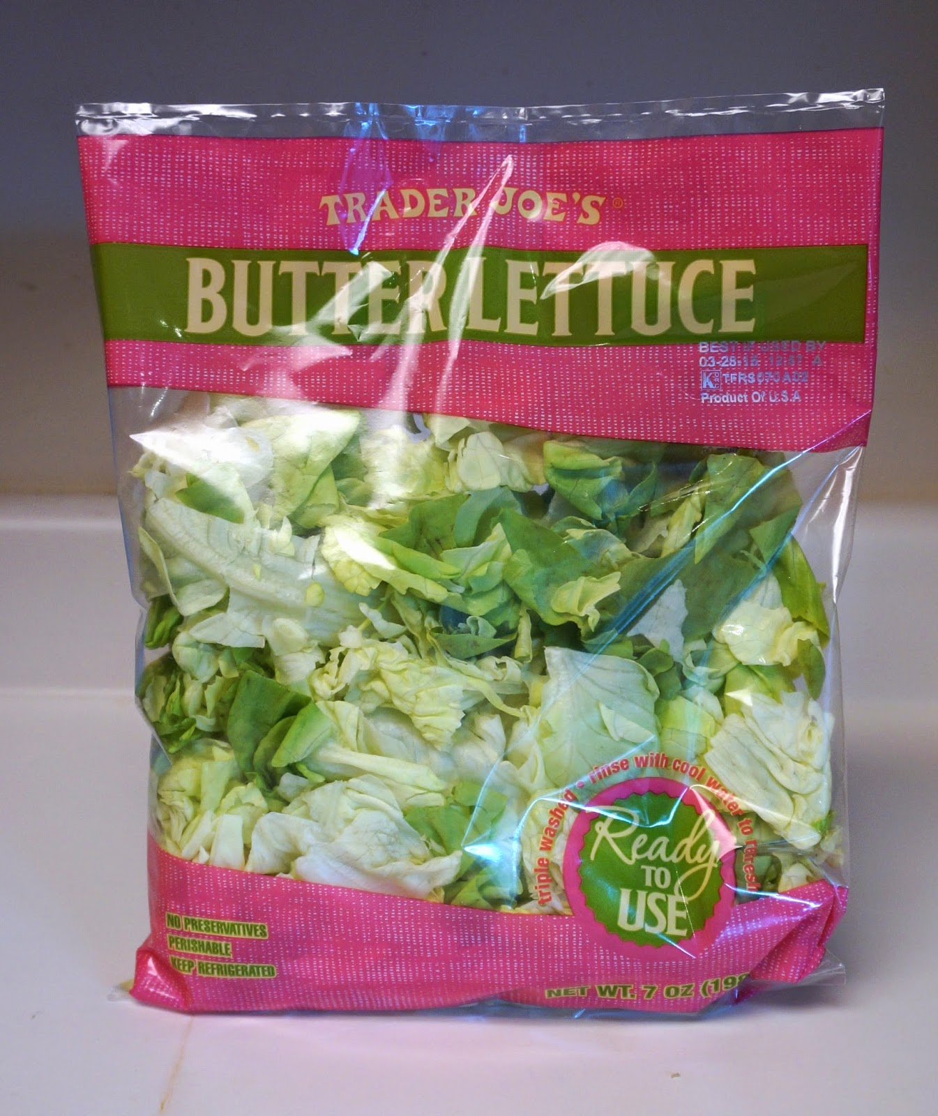 I Ve Never Bought Er Lettuce Before Had Seen These Bags At Trader Joe S Many Times But Didn T Know What Would Do With It On A Recent Trip