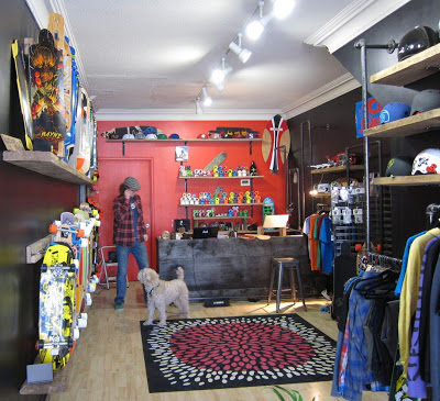Photo: Longboard Haven store interior