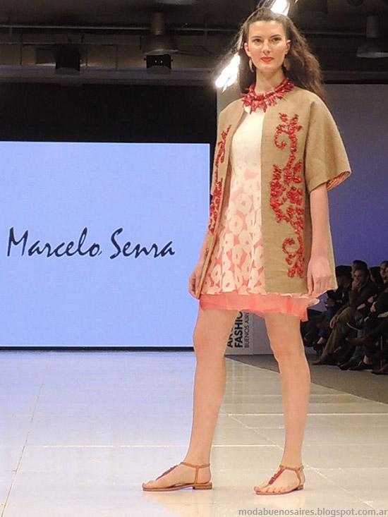 Moda primavera verano 2015, Marcelo senra vestidos verano 2015.
