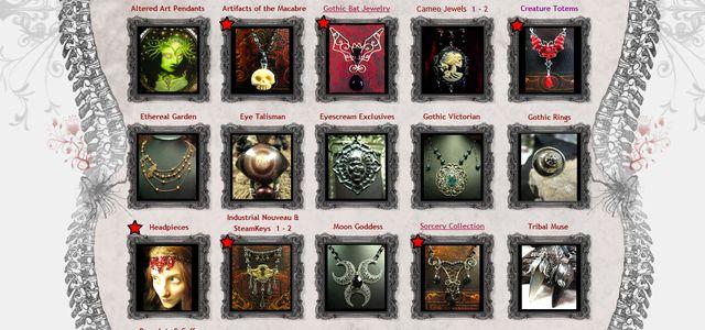 Original Handmade Gothic Jewelry