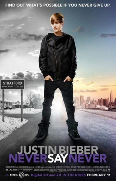 justin bieber never say never 3d wallpaper. justin bieber never say never