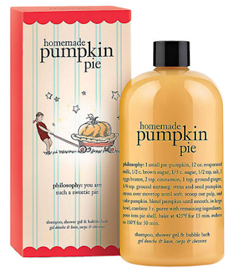 Philosophy, Philosophy Homemade Pumpkin Pie Shampoo Shower Gel Bubble Bath, body wash, 3-in-1, Thanksgiving scents, pumpkin beauty products