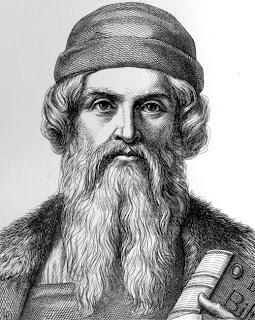 Mesin Cetak - Johannes Gutenberg