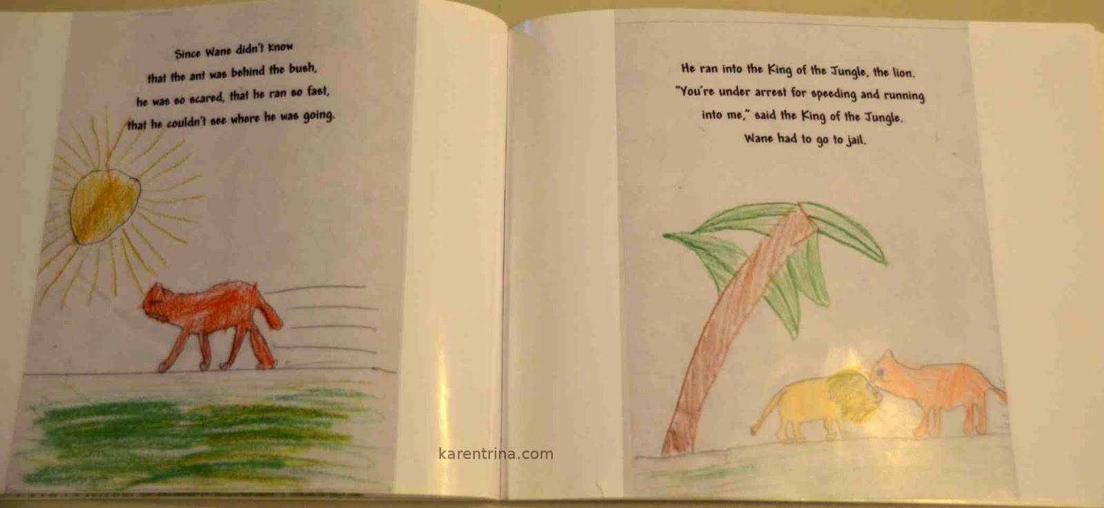 write and illustrate a book with children