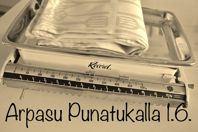 Arpasu Punatukalla 1.6. saakka