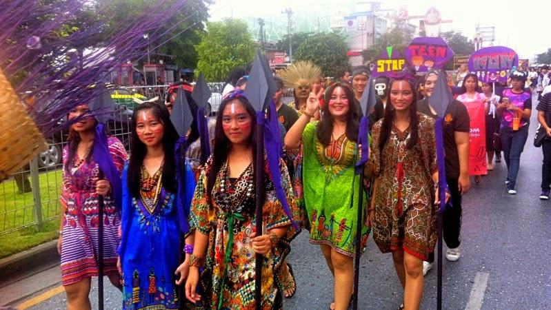 Demo Teenagerschwangerschaft Thailand