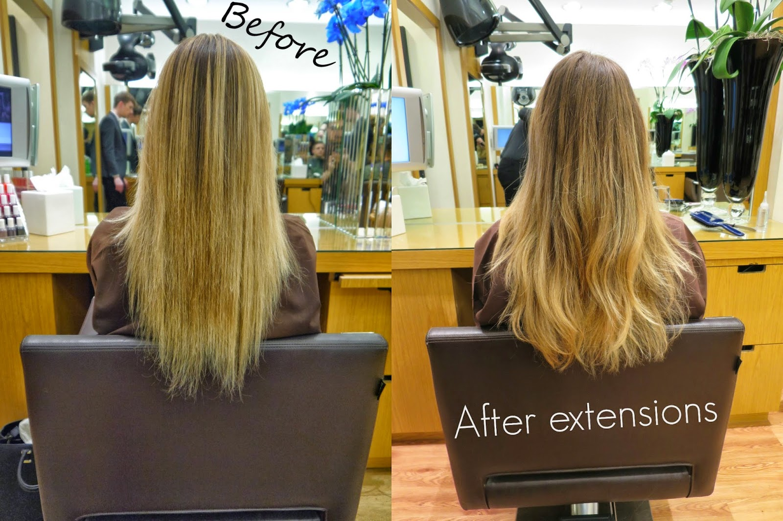 Before and after removal of hair extensions she goes wear before and after removal of hair extensions pmusecretfo Images